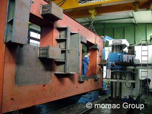 Großteile: Bohrwerksbearbeitung / Fräsbearbeitung im Lohn, Bauteile bis 20 Tonnen Stückgewicht und 12.000 mm Länge