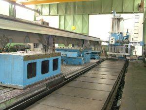Fräsarbeiten, Bohrwerksarbeiten bis x 12.000 mm und 20 Tonnen