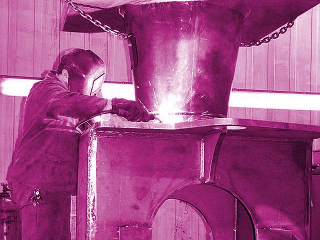 Schweißen Schweißkonstruktionen Stahlbau zertifiziert nach DIN EN ISO 3834-2 in 47441 Moers / NRW
